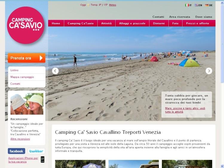 camping Ca'Savio in Cavallino treporti