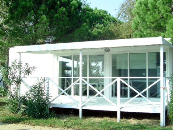 Maxi beach House at Camping Ca' Savio