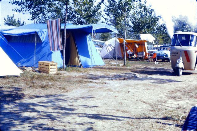 Camping Ca' Savio tents