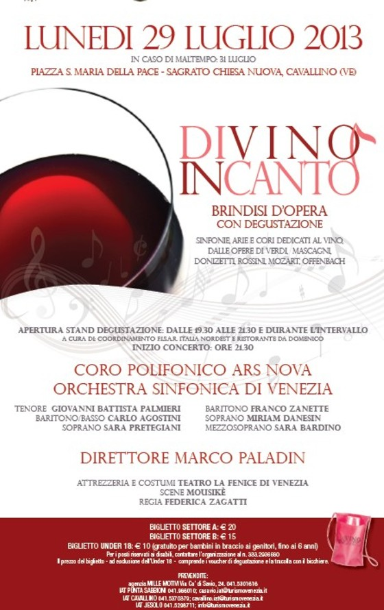 music and wine tasting in cavallino