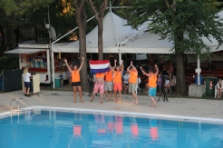Holland team at watergames competitions Ca' Savio