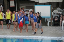 Italian team - water competitions at Camping Ca' Savio