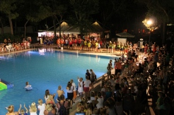 watergames at Camping Ca' Savio