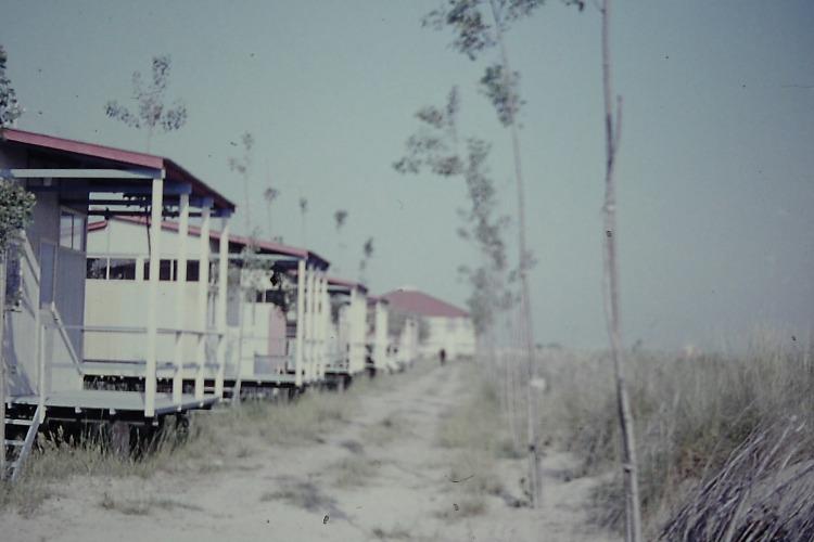 Bungalows 1 Fila Camping Ca' Savio in 1959