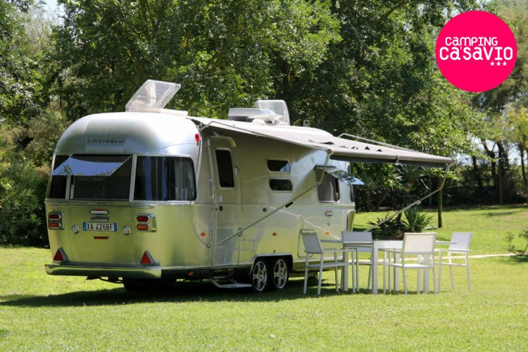 Airstream at Camping Ca' Savio