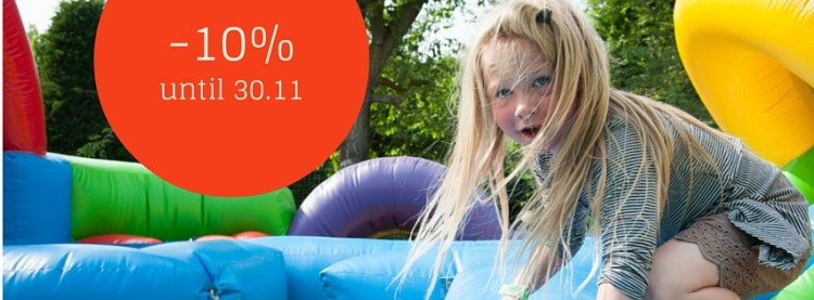 early booking offer -10% until 30.11