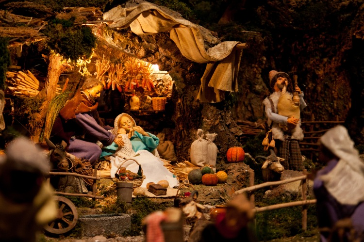 Christmas in Italy - presepe