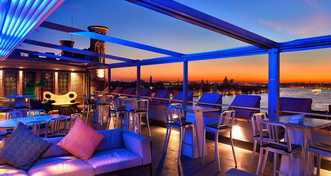 venice rooftop bar aperitif
