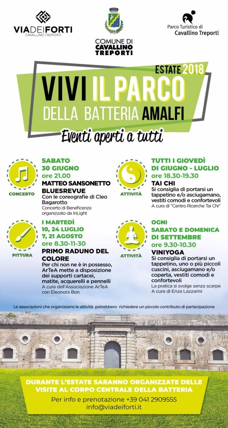 Batteria Amalfi - Eventi a Cavallino