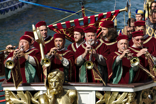 regata storica venezia fiati